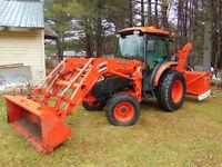Tracteur kubota L5740 2010
