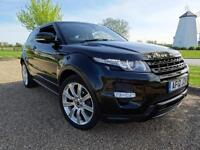 2012 Land Rover Range Rover Evoque SD4 DYNAMIC Diesel black Automatic