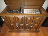 Meuble Audio Vintage MORSE TOTAL MUSIC  SYSTEM