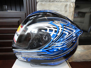 Zoan Revenge Helmet Size XS Blue w/4 Visors Included!! Brand New Kitchener / Waterloo Kitchener Area image 1