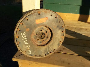 Ford 302-351w Flywheel & 351c Scatter shield