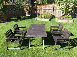 IKEA Outdoor table and four chairs