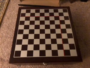 Vintage Wine Chess Set. Brand New.