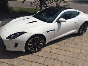 2016 Jaguar F-Type Coupe, manual transmission, Lease Takeover