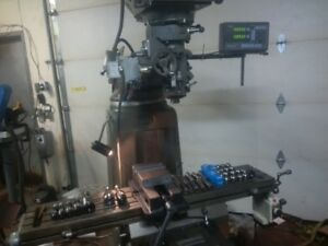 Milling Machine with Tooling