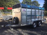 Cattle trailer brand new 12x6 tuffmac