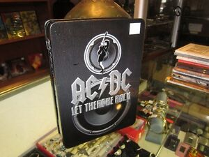 AC/DC Steel Case LET THERE BE ROCK DVD Box Set