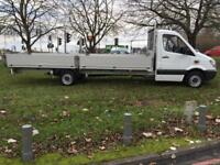 Mercedes Sprinter 313Cdi XLWB 3.5T GVW Extended Chassis *20ft (6m)* Dropside