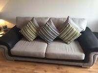 3 seater + 2 seater SCS Tetris suite in immaculate condition