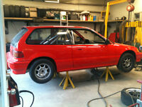1991 civic B18A tranny sir route drag ou track faite un offre