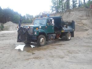 1996 International Single Axle Plow Truck