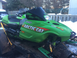 2002 Arctic Cat ZR 600 Sno Pro only 1450 km,s