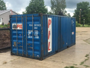 Used Sea containers for storage