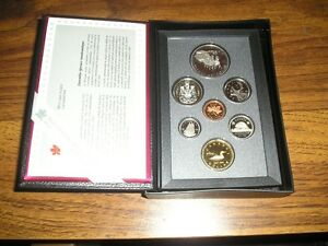 1992 ROYAL CANADIAN MINT PROOF COIN SET STAGECOACH COMMEMORATIVE