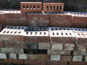 Clean Used Red Clay Bricks