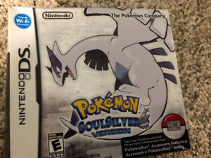 Pokémon soul silver Nintendo DS