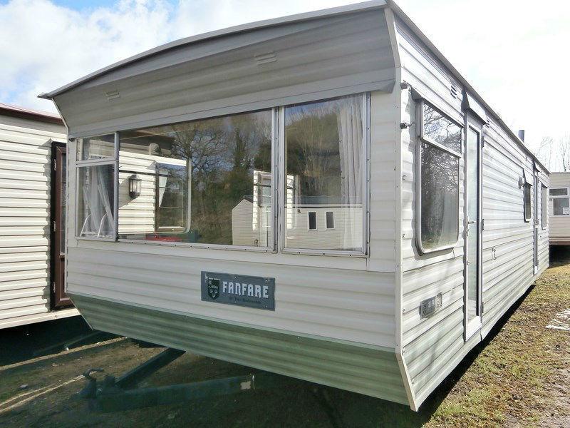 Off Site Static Caravans 1990 Atlas Fanfare 31x10 2 Beds