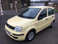 5909 Fiat Panda 1.1 Active ECO Yellow 49912mls MOT 12m