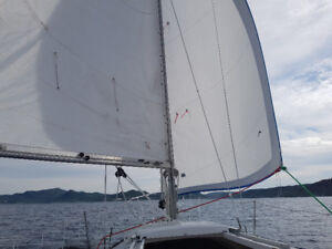 24 foot C and C Sailboat for Sale.   Located in Holyrood TNYC.