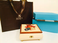Authentic Brand New Maison Birks Music Box with Box!