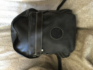 Heavy Leather Roots bag