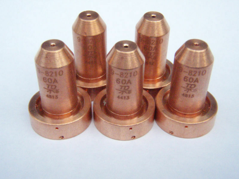 Genuine Thermal Dynamics 5pcs  x 9-8210 Nozzles for SL60/SL100 Plasma