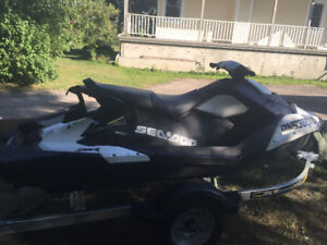 2016 Seadoo Spark 3up Fully Loaded (IBR,VTS, Tow Pkg, Speed Tie)