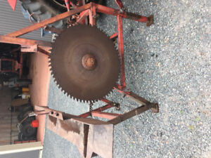 3 Point hitch saw gear
