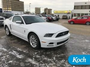 2014 Ford Mustang V6 Premium  Pony Pkg, Leather, Rear Camera
