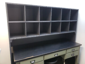 Painted Shelving Unit Great for Store Display