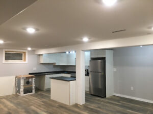 Brand new, very large 3 bedroom basement suite blocks from UofS
