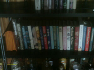 Collection of Hardcover Romance Novels