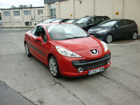 2008 Peugeot 207 CC 1.6 16v 120 Coupe GT Finance Available, Drive Away today!