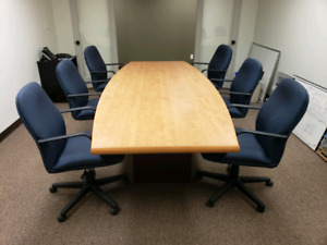 Boardroom Table and Chairs for Sale - Office Furniture