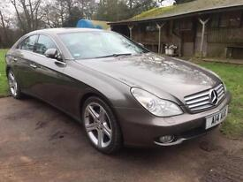2007 07 MERCEDES-BENZ CLS320 3.0 CDi COUPE AUTOMATIC DIESEL GREY
