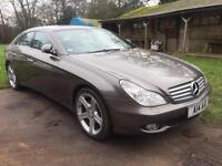 MERCEDES-BENZ CLS320 3.0 CDi COUPE AUTOMATIC DIESEL GREY 1 OWNER