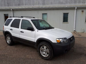 2007 Ford Escape XLT SUV, 4WD
