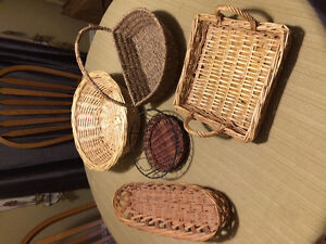 Assorted baskets - Wolfville
