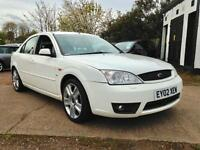 2002 Ford Mondeo 2.5i Ghia X Full Service History 2 Owners
