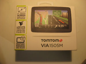 Brand new tomtom VIA 1505M GPS never installed