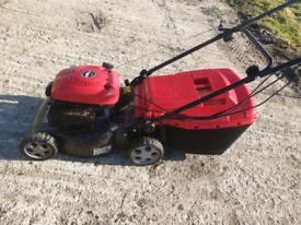 Mountfield self-propelled mower.