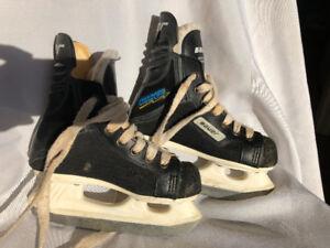 Bauer kids skates.  Size 11.   $25