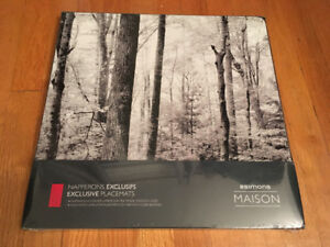 4 blackwhite exclusive placemats NEW 4 napperons exclusifs n&b
