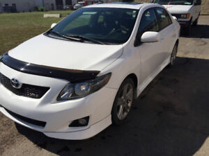 2010 Toyota Corolla XRS Sedan fully loaded
