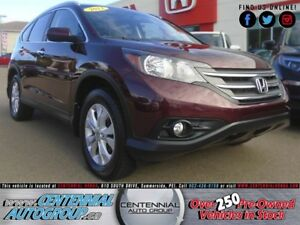 Honda CR-V Touring | 2.4L | i4-Cyl | AWD | Bluetooth 2013