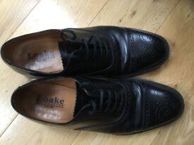 Loake leather brogues, UK size 8