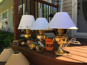 Aladdin Lamps - Oil or Electric