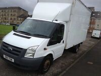 11 plate ford transit Luton **motd till may 2017** SWAP FOR TIPPER!!!!!