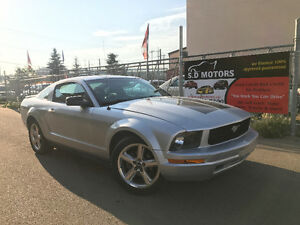 2008 FORD MUSTANG COUPE MANUAL ONLY153000 KMS LEATHER LOADED