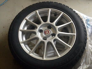 FIAT 500 Lounge WINTER TIRES 15 inch